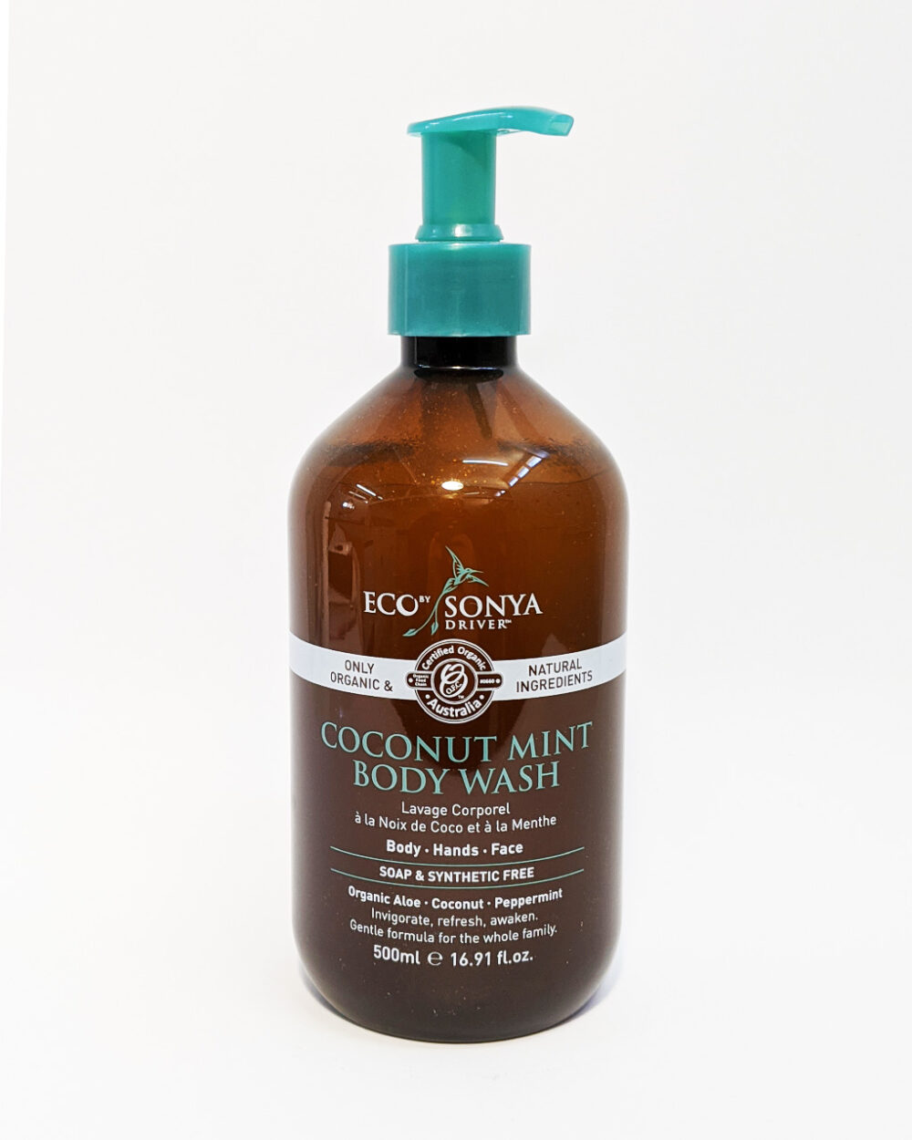 The Wholeness Co - Coconut Mint Body Wash