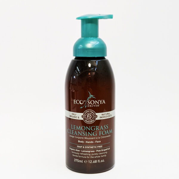 The Wholeness Co - Eco by Sonya Driver - Lemongrass Cleansing Foam