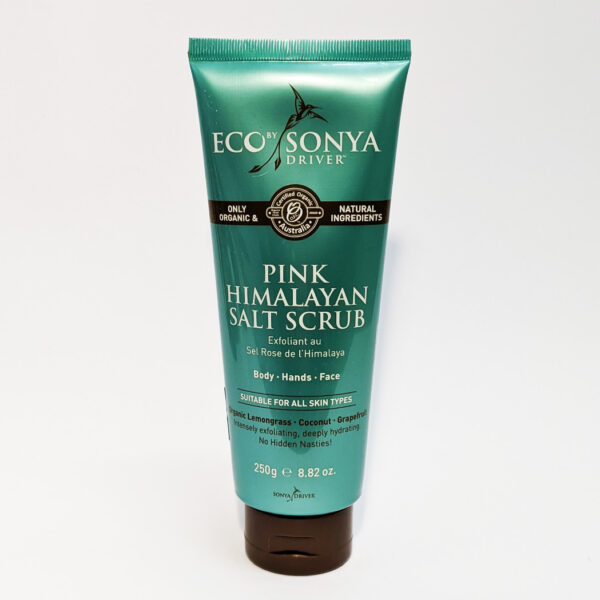 The Wholeness Co - Eco by Sonya Driver - Pink Himalayan Salt Scrub