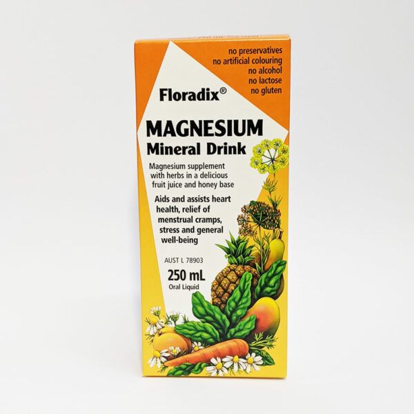 The Wholeness Co - Floradix Magnesium Mineral Drink