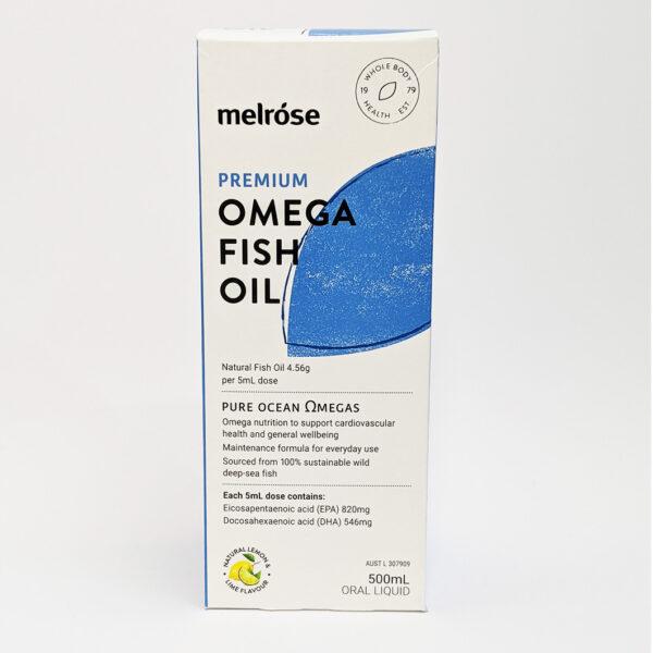 The Wholeness Co - Melrose Premium Omega Fish oil