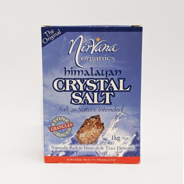 The Wholeness Co - Nirvana Organics - Himalayan Crystal Salt