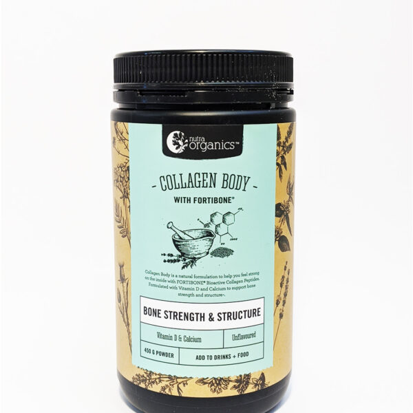 The Wholeness Co - Nutra Organics - Collagen Body