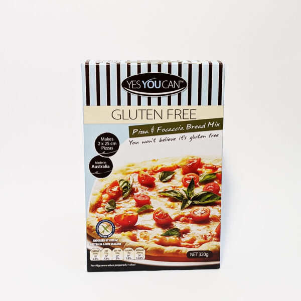 The Wholeness Co - Yes You Can Pizza and Focaccia Bread Mix - Gluten Free